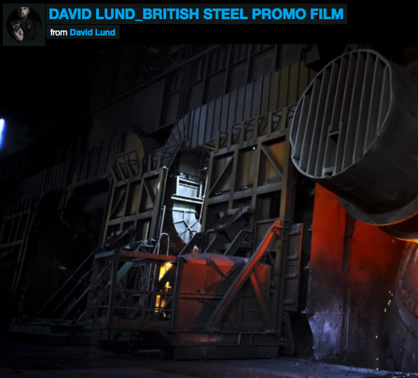 BRITISH STEEL PROMO FILM
